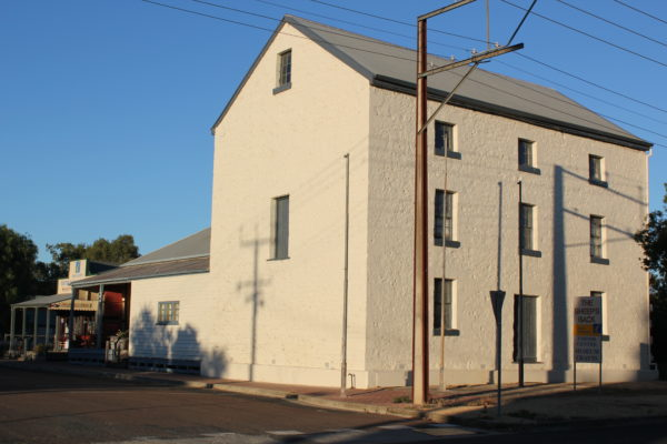 This State Heritage Listed mill building is part of the Sheep's Back Museum complex in Naracoorte.